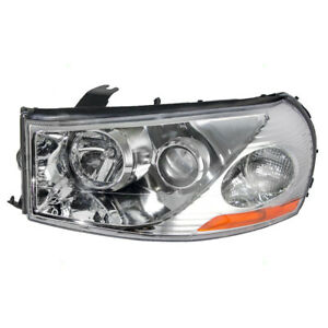 Drivers Headlight Headlamp Lens Housing Assembly For 2003 2005 Saturn L series