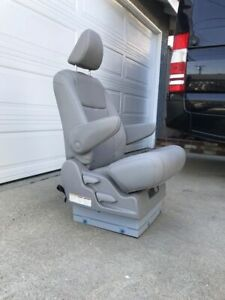 Gray Leather Seat For Mercedes Sprinter Van Rv Or Shuttle Bus Motorhome