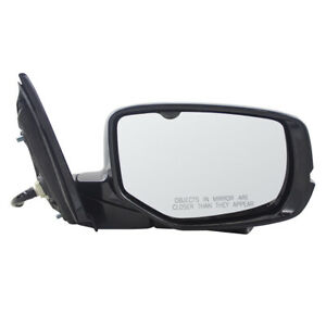 Passengers Power Side Mirror Heated Signal Camera For 13 17 Honda Accord Sedan
