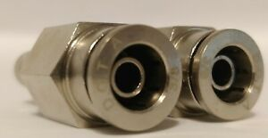 2 Dot Push In Inflation Valve 3 8 Air Line Schrader Fitting Air Ride Bag Towing