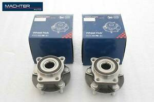 Front Wheel Bearing Hub Set For Subaru Outback Legacy W Abs 2005 2014