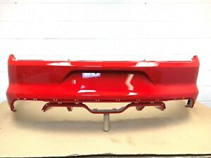 2015 2016 2017 Ford Mustang Gt V8 Rear Bumper Cover Race Red 3