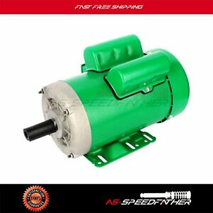 2 Hp Agricultural Electric Motor 145t Frame 1725 Rpm Single Phase Tefc