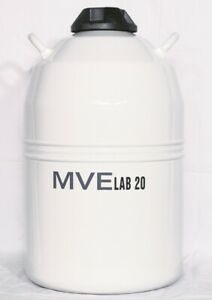 Mve Lab 20 Dewar Liquid Nitrogen Storage Container
