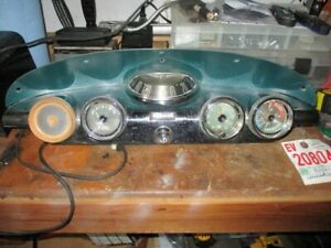 1958 Edsel Ranger citation Dash Cluster Complete Lights Speed Works original