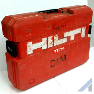 Hilti Te 14 Case Only Power Tool Box