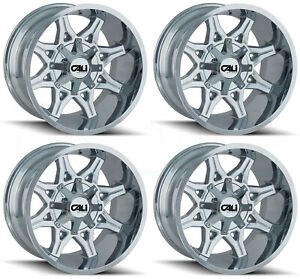 20x9 Cali Off road Obnoxious 6x135 6x5 5 18 Chrome Wheels Rims Set 4