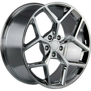 20x9 Strada Replica R126 Z28 Replica 5x115 15 Chrome Wheels Rims Set 4