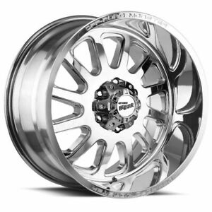 20x10 Off road Monster M17 5x5 5x127 19 Chrome Wheels Rims Set 4
