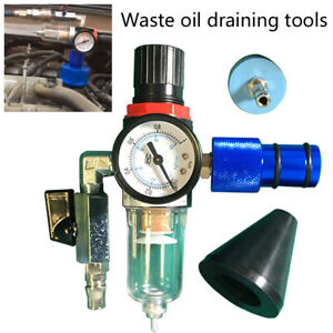 Car Fluid Oil Bleeder Pump Vacuum Brake System For Air Empty Exchange Equipment