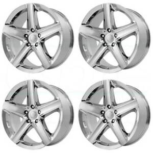 20x9 Replica V1169 2006 Jeep Srt 8 5x5 5x127 34 7 Chrome Wheels Rims Set 4