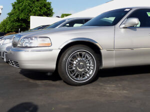 Lincoln Town Car 2003 2011 Tfp Polished Stainless Steel Fender Trim Molding