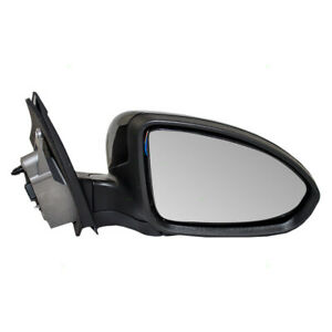 Passengers Power Side Mirror Glass Housing For 11 15 Chevy Cruze