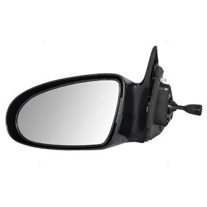 Drivers Manual Remote Side View Mirror Glass Housing For 1993 1997 Geo Prizm