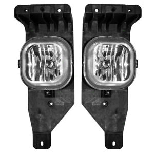 Pair Set Fog Lights Lamps For 05 Ford Excursion 05 07 Superduty Pickup Truck