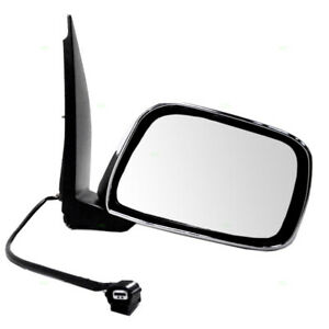 New Passengers Power Side Mirror Chrome For 09 13 Suzuki Equator Pickup Truck