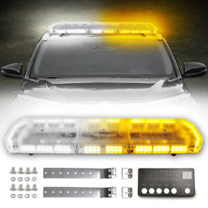 48 88 Led Emergency Warning Strobe Light Bar 12 24v Tow Truck Beacon Response