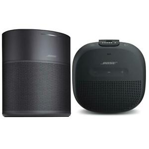 Bose Home Speaker 300 Black With Bose SoundLink Micro Bluetooth Speaker Black
