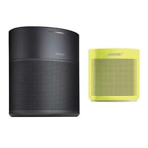 Bose Home Speaker 300Black WBose SoundLink Color Bluetooth Speaker II Yellow