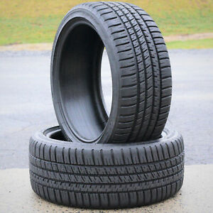 2 New Michelin Pilot Sport A s 3 205 45r17 84v A s Performance Tires