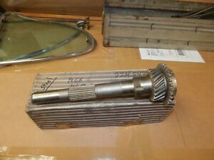 Mgb Mgc 3 synchro D type Transmission Gearbox 1st Motion Input Shaft No 22h843