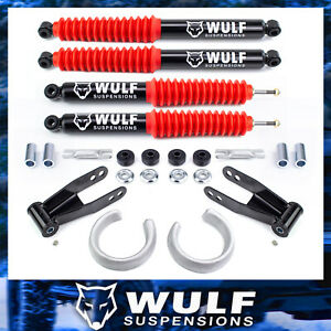 2 5 Front 2 Rear Leveling Lift Kit Full Shocks For 1998 2011 Ford Ranger 2wd