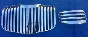 1941 1942 1946 Chevrolet Truck Grill Re plated Upper And Lower Pickup Suburban