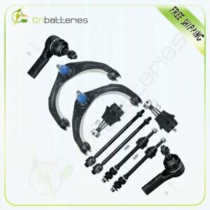 Fits Dodge Ram 1500 2006 2008 10pcs Front Control Arms Ball Joints Tie Rods Kit