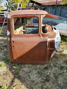 1956 Ford Truck Cab And Front Clip W grill