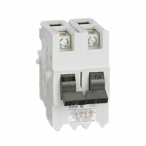 Nb250 Federal Pioneer 50 Amp Double Pole Bolt on Circuit Breaker