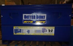 Better Built 37211296 Job Site Safe Tool Box 48 X23 X25 H See Notes