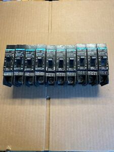 Lot Of 10 Siemens Ite Bqd115 Single Pole 15amp 480 277 Circuit Breaker New