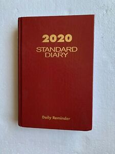 At A Glance Sd387 Daily Standard Diary 2020