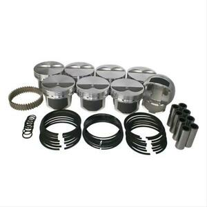 Wiseco Pistons Forged Flat 4 155 In Bore Chevy Small Block Set Of 8 Pts510a3