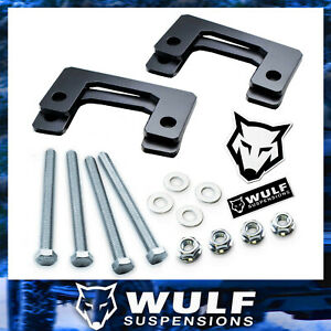 1 Front Spacer Leveling Lift Kit For 2007 2019 Chevy Silverado Gmc Sierra 1500
