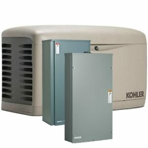 Kohler 20rescl 200sels 20kw Composite Standby Generator System 2 X 200a Serv