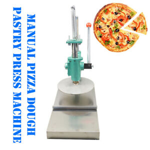 9manual Pizza Dough Press Machine Pastry Press Premade Pizza Dough Pizza Presser