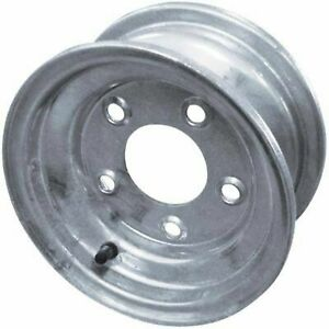 Martin 15in Galvanized Spoked Trailer Tire Wheel Rim Only 6 hole St205 75 15