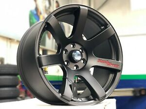 New 18x9 5 Lenso Rtc Concave Wheel 6x114 3 Frontier Pathfinder Xterra set Of 4