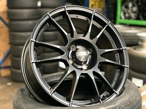 New 17x7 Oz Ultraleggera Italy Wheel set Of 4 Mini R56 Honda Fit Toyota Yaris