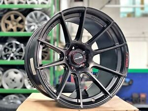 New 18x11 Et15 Lenso Spec F Wheel 5x114 3 Set Of 4 Suitable For Wide Body Cars