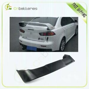 Reduce Weight Rear Trunk Spoiler Wing For 2008 2017 Mitsubishi Lancer Evo 10