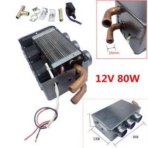 Universal 3 Hole Vehicle Autos Car Heating Cooling Heater Defroster Demister 80w