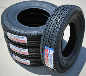 4 New Transeagle St Radial Ii St 235 85r16 Load F 12 Ply Trailer Tires