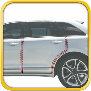 2007 2014 Fits Ford Edge 4pc Invisible Door Edge Guards Pre Cut Custom Fit Clear