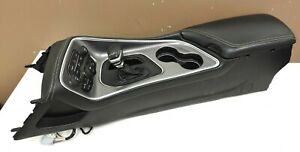 2015 18 Dodge Challenger Hellcat Center Floor Console W shifter Leather Armrest