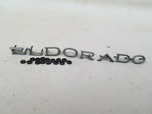 Hood Letters 1977 Cadillac Eldorado Parting Out Ask About Parts Thank You