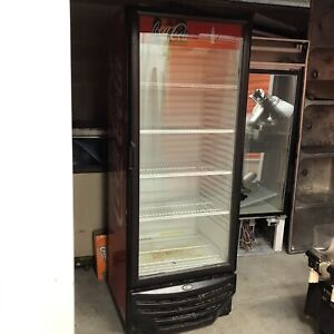 Used Single Glass 1 Door Commercial Refrigerator