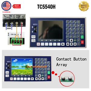 4 Axis Spindle Control Cnc Controller Lcd Tc5540h Support Servo Stepper Motor Us