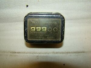 Vintage Chevrolet Lubrication Reminder Chevy Lube Meter Dealer Next Lubrication